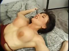 Smoking, Anal, Big Tits, Boobs, Brunette, Lingerie