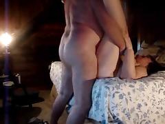 Old couple plays on cam porn video