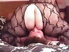 Fullbody Fishnet BBW Facesits porn video