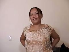 Asian Whore Jenevi Sucking Hard Cock And Getting Cum In Mouth