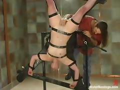 Lorelei Lee enjoys lashings for mains hither will not hear of cunt hither BDSM instalment