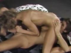 69, 69, Blonde, Brunette, Lesbian, Masturbation