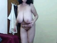 Matured showxing will not hear of huge tits space fully dancing