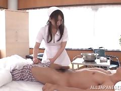 Naughty Asian Dolour Hana Nonoka Having Fun Fucking a Patient's Boner