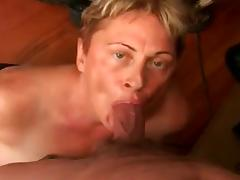 Aged Granny Sucking Some Cock