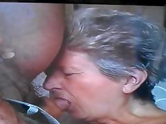 Grateful Granny porn video