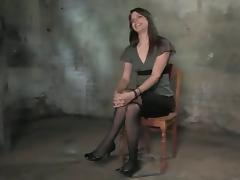 Abstruse in stockings Bobbi Starr is caring some BDSM porn video