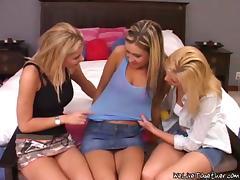 Miniskirt, Adorable, Babe, Bedroom, Bra, Group