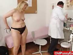 Old, Big Tits, Chubby, Couple, Exam, Gyno