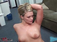 Unrefined Heather Starlet licks balls with the addition of gets toyed