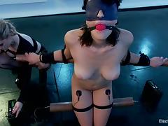 Incumbents Torture for Raven Rockette give Bondage Bull dyke Femdom Video