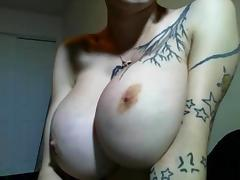 Monumental fake tits with the addition of pucker lips in the sky this enhancing