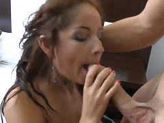 Nasty brunette susana alcal� loves hot anal action