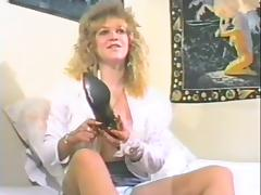 Blonde milf fingers the brush soiled pussy just about fruit stiffener porn video