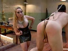 Jason Miller gets his ass destroyed by hot Aiden Starr