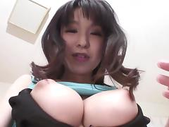 Teem Asian Miina Kanno and her big tits