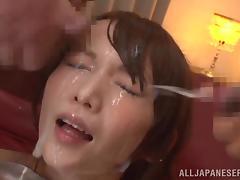 Bukkake, Asian, Beauty, Bukkake, Cum, Cumshot