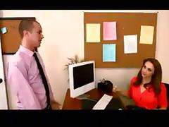 Hot Brunettes Fucking in The Office