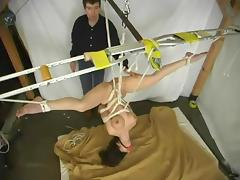 Natural hogtie suspension with Jewell Marceau