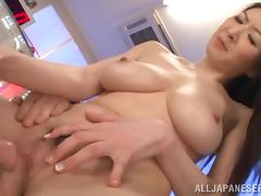 Mature Japanese doll Hitomi Oohashi is in love with a big one
