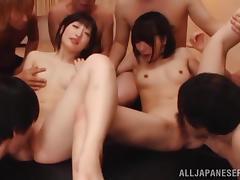 Japanese, Asian, Babe, Gangbang, Japanese