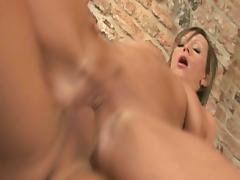 Milf with huge melons gets fucked like a slut