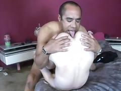 Shaved Pussy, Couple, Cowgirl, Feet, Fetish, Fucking
