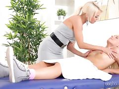 licking a bald pussy @ her first milf #15
