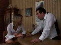 Hot Jules Van Saint gets fucked rough by a barman