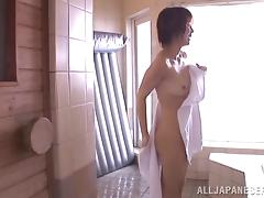 Hot sex with the horny Asian babe Mayu Nozomi