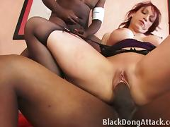 Banging, Banging, Black, Cumshot, Ebony, Group