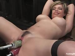 All, BDSM, Blonde, Fetish, Friend, Machine
