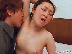 japanese milf gets her armpits sniffed porn video