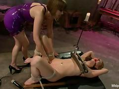 Carolyn Reese gets humiliated and fucked by Maitresse Madeline