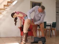All, Banging, Blowjob, Brunette, Cowgirl, Creampie