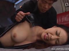 Hot bondage with the sexy Shiori Kamisak