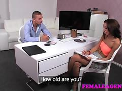 FemaleAgent: Stamina stud must prove his worth