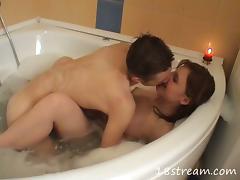 Bath, Amateur, Bath, Blowjob, Couple, Cumshot