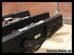 InescapableBondage Video: Locked to the Floor