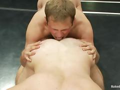 Sublime Paul Wagner And James Gates Lick Each Other's Assholes