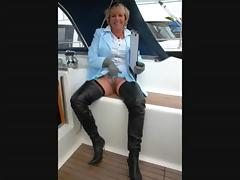 Grandmother, Blowjob, Boat, Granny, Mature, Old