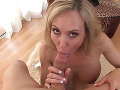 All, Big Tits, Blonde, Blowjob, Cum in Mouth, Dress