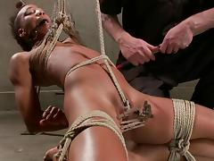 Pain, BDSM, Black, Bondage, Ebony, Slave