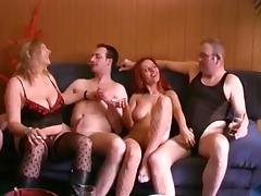 Austrian, Austrian, Group, Orgy, Swingers