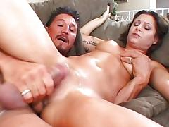 All, Blowjob, Brunette, Couple, Cum, Cumshot