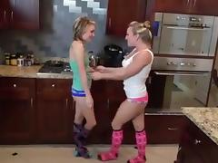 Beauty, Beauty, Cute, Feet, Femdom, Lesbian