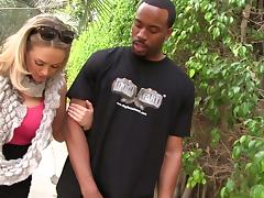 Irresistible MILF In Glasses Katie Kox Fucking With Black Dude