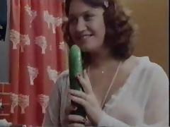 Cucumber Fun Vintage porn video