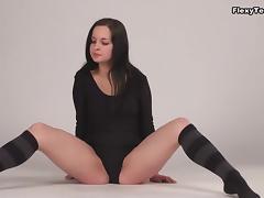 Inna Akkorova - Gymnastic Video part part 1