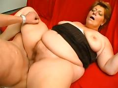 Old Woman, BBW, Blonde, Granny, Mature, Old